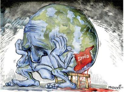 international community Syria